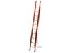 FIBERGLASS FLAT D-RUNG EXTENSION LADDER