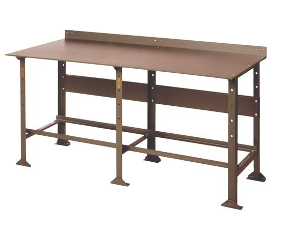 EXTRA HEAVY DUTY PLATE TOP WORK BENCH