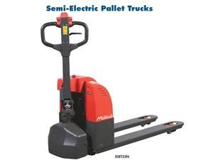 SEMI-ELECTRIC & FULL ELECTRIC PALLET TRUCKS