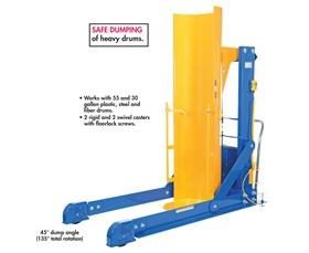 PORTABLE HYDRAULIC DRUM DUMPER